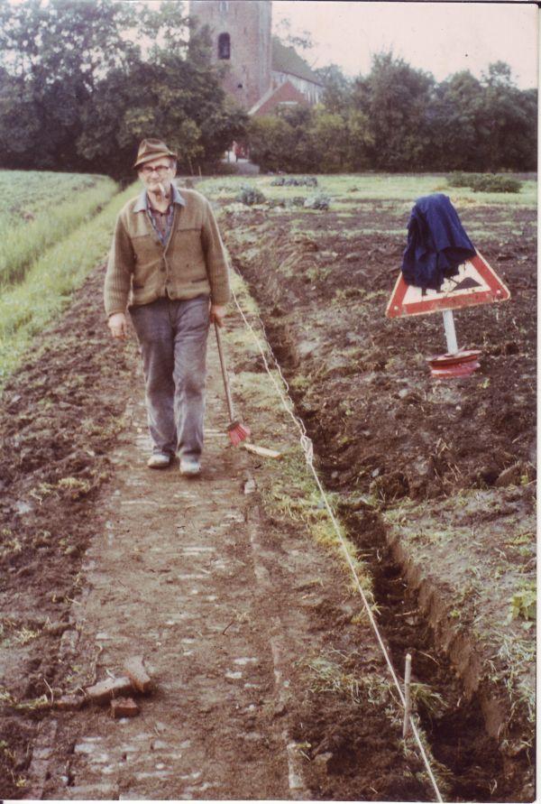 Hinnerk Busker Karkpad verlegen vor 30 Jahren