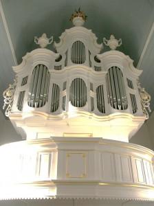 Wenthinorgel in der Groothuser Kirche