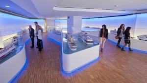 Das neue Besucherzentrum der Meyer-Werft in Papenburg